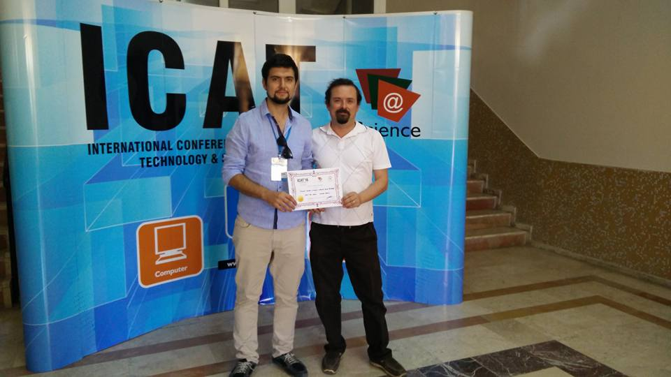 Best Paper Award in the International Conference on Advanced Technology and Sciences (ICAT) 2016